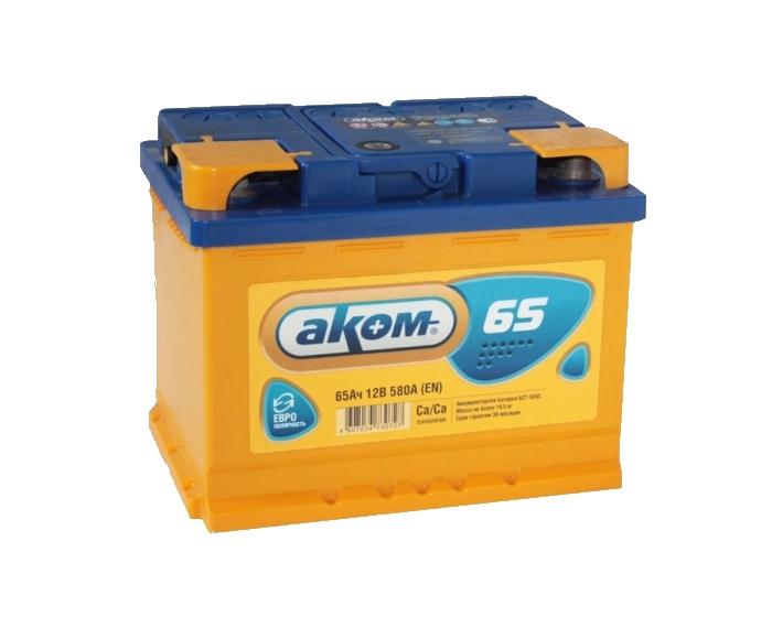 Купить аккумулятор Аком 65 Ач обратной полярности в Воронеже