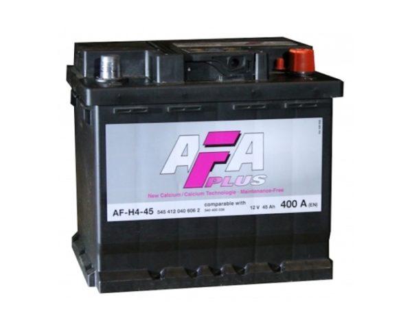 Купить аккумулятор в Воронеже AFA Plus AF-H4-45 45 А/ч