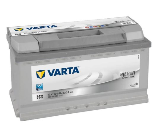 Купить аккумулятор в Воронеже Varta Silver Dynamic H3 100 А/ч