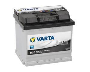 Купить аккумулятор для автомобиля в Воронеже Varta Black Dynamic B20 45 А/ч