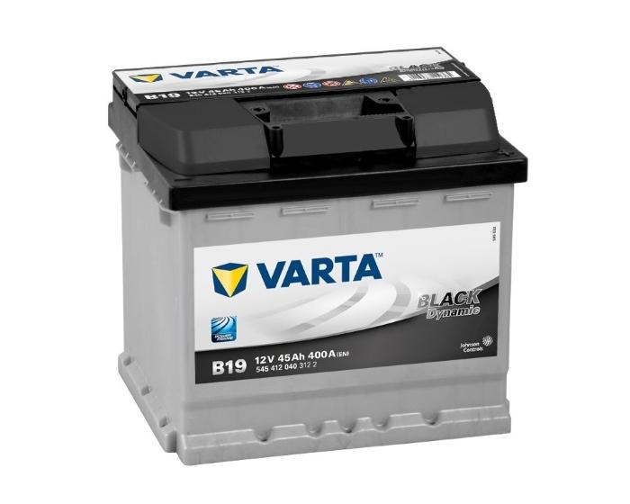 Купить автомобильный аккумулятор Varta Black Dynamic B19 45 А/ч в Воронеже
