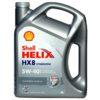 Моторное масло SHELL Helix HX8 5W40 синтетическое 4 л. купить в Воронеже
