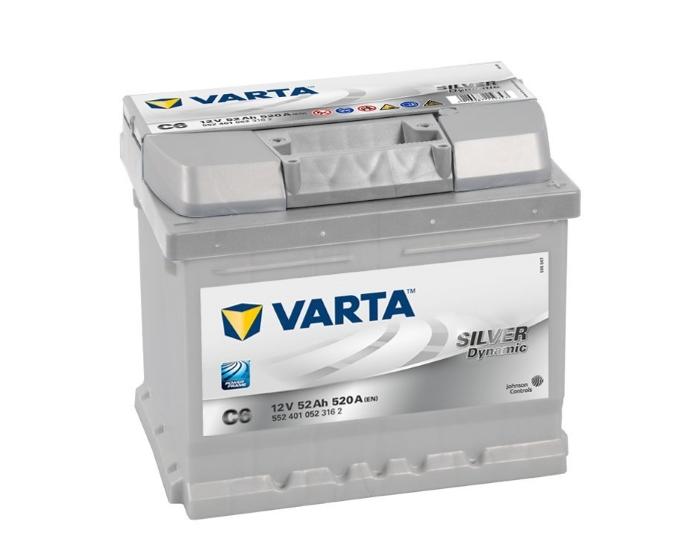 Купить аккумулятор Varta Silver Dynamic C6 52 А/ч в Воронеже