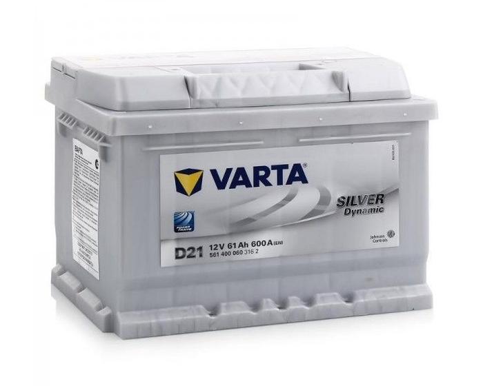 Купить аккумулятор Varta Silver Dynamic D21 61 А/ч в Воронеже