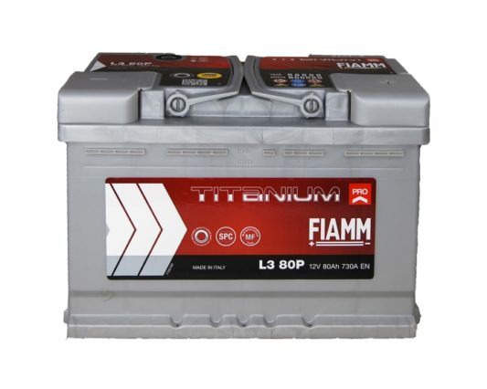 Купить аккумулятор Воронеж FIAMM Titanium Pro 80 А/ч