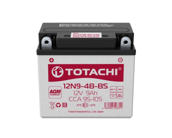 Аккумулятор для мотоцикла в Воронеже Totachi 12N9-4B-BS 9 А/ч