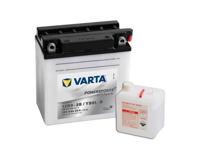 Аккумулятор для мотоцикла в Воронеже Varta Powersports 12N9-3B 9 А/ч