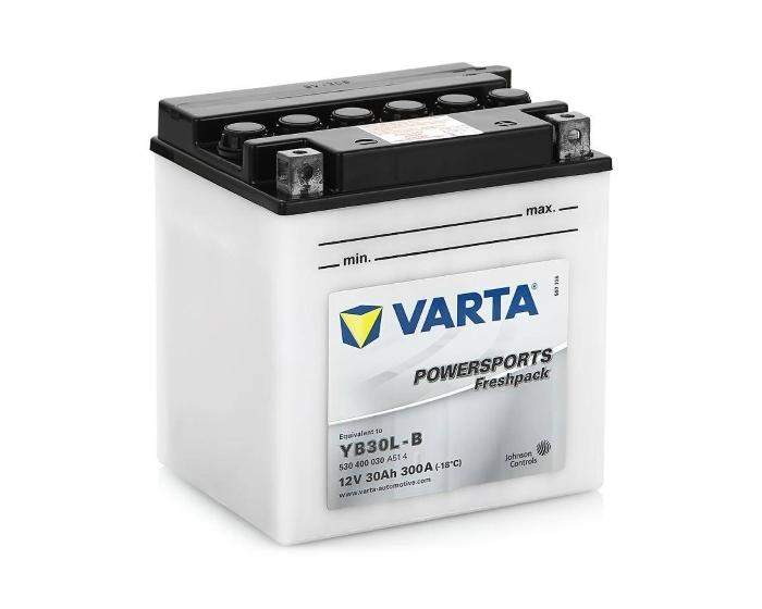 Мото аккумулятор купить в Воронеже Varta Powersports YB30L-B 30 А/ч