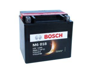 Мото аккумулятор в Воронеже Bosch M6 018 YTX14-BS AGM 12 А/ч купить