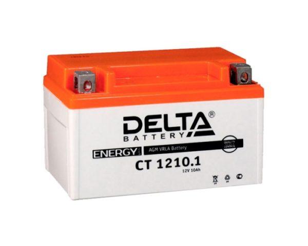 Мото аккумулятор DELTA CT 1210.1 AGM 10 А/ч купить в Воронеже