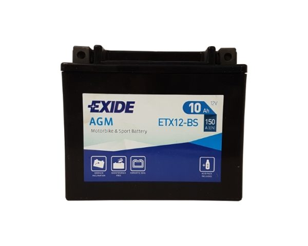 Мото аккумулятор в Воронеже Exide AGM ETX12-BS 10 А/ч
