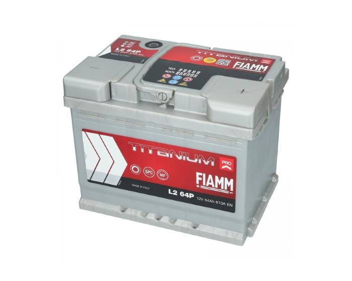 Купить аккумулятор в Воронеже FIAMM Titanium Pro L264P 64 А/ч