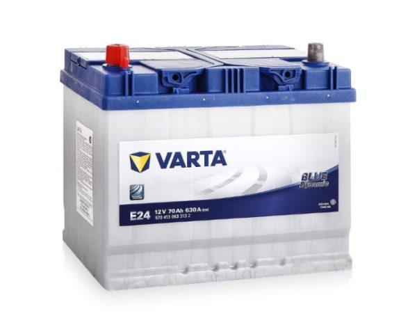 Авто аккумулятор купить в Воронеже Varta Blue Dynamic E24