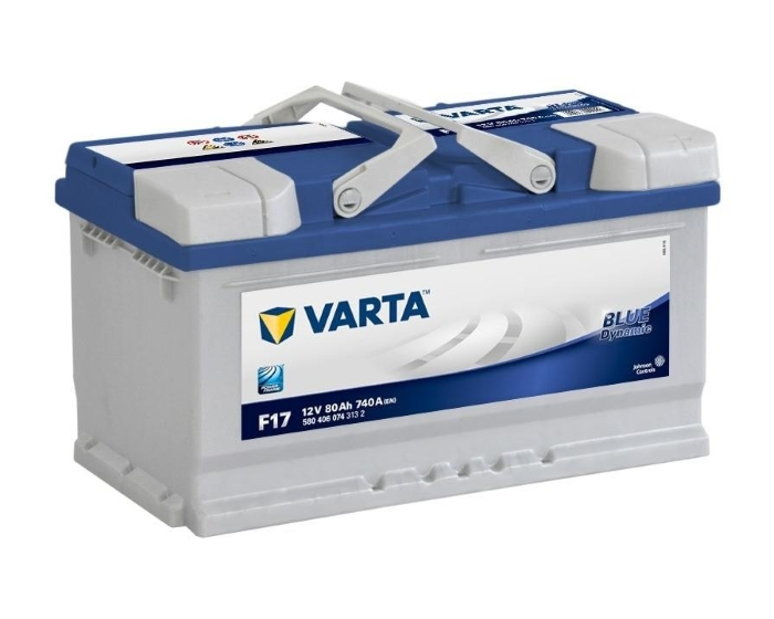 Купить аккумулятор в Воронеже Varta Blue Dynamic F17 80 А/ч