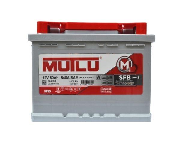 Mutlu Calcium Silver М2 60 А/ч о.п. купить в Воронеже