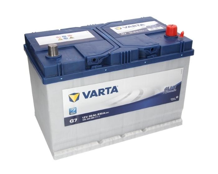 Varta Blue Dynamic G7 купить в Воронеже аккумулятор