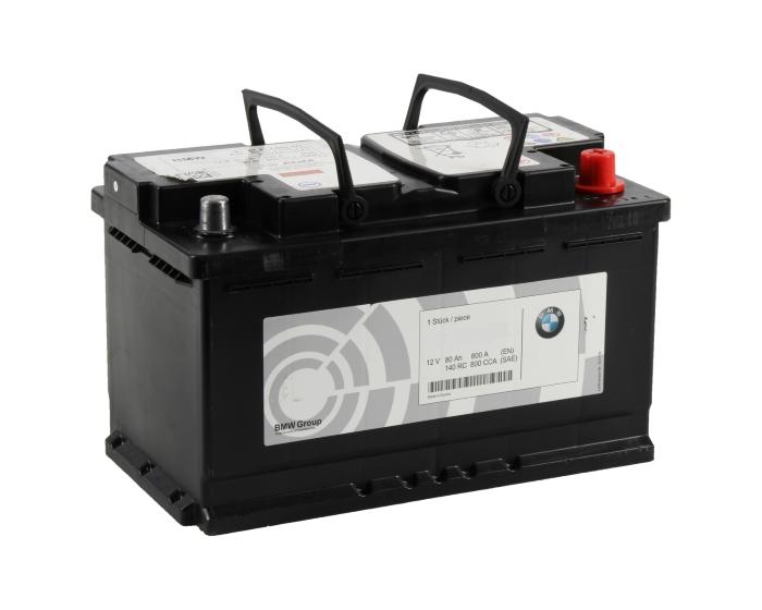Оригинальный аккумулятор BMW Start-Stop AGM 80 А/ч в Воронеже в наличии