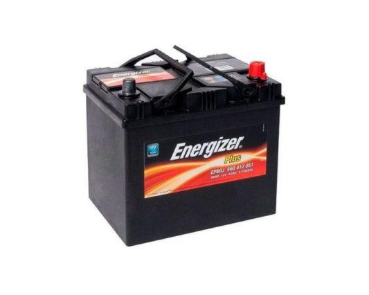 Автомобильный аккумулятор Energizer Plus 60 А/ч азиатский тип в Воронеже купить