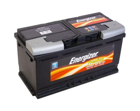 Авто аккумулятор Energizer Premium 100 А/ч в Воронеже