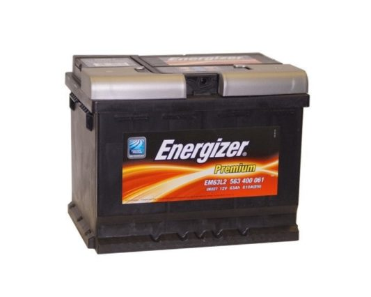 Автомобильный аккумулятор в Воронеже Energizer Premium 63 А/ч купить
