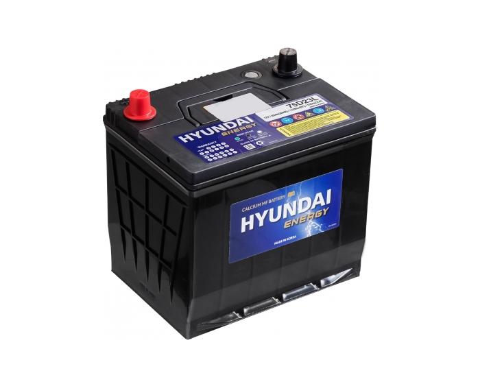 Оригинальный аккумулятор HYUNDAI CMF 75D23L Energy 65 А/ч в Воронеже в наличии