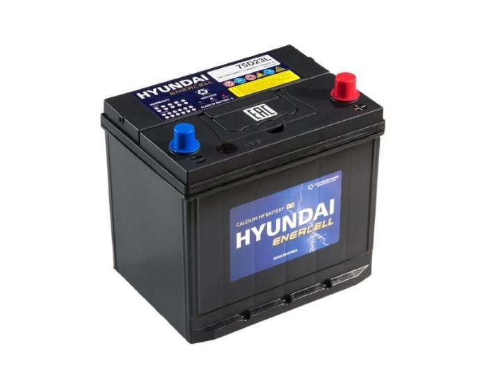 Оригинальный аккумулятор HYUNDAI CMF 75D23L 65 А/ч