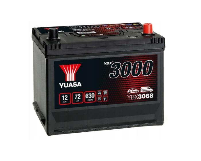 Японский аккумулятор Yuasa YBX3068 (85D26L) 72 А/ч купить в Воронеже