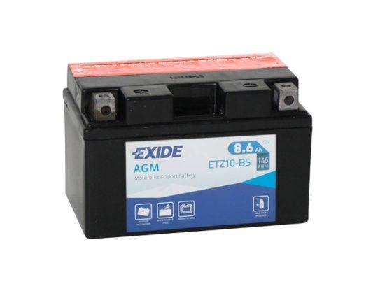 Мото аккумулятор Exide AGM ETZ10-BS (YTZ10-BS) 8.6 А/ч купить в Воронеже