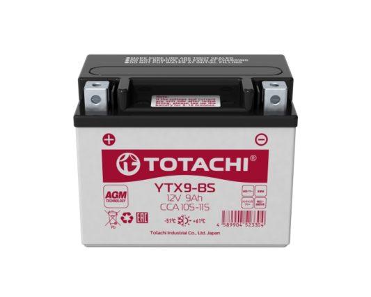 Аккумулятор для мотоциклов, скутеров в Воронеже Totachi Moto YTX9-BS AGM 9 А/ч