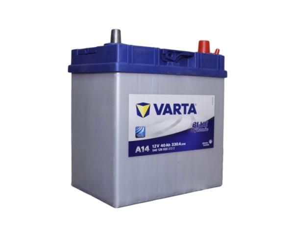 Аккумулятор автомобильный Varta Blue Dynamic A14 40 А/ч купить в Воронеже