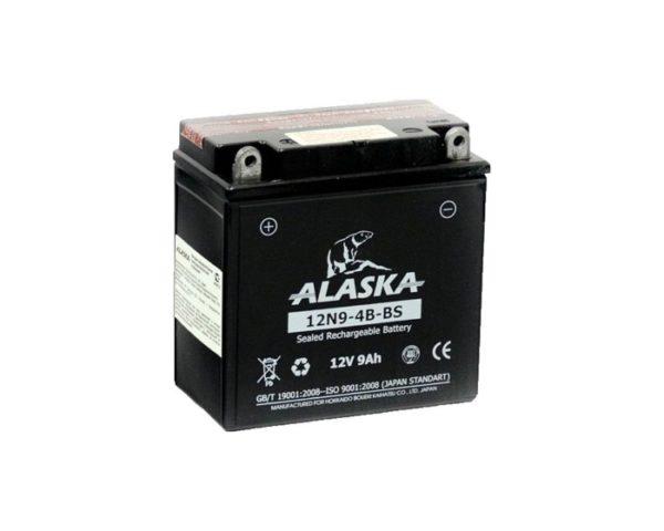 Аккумулятор для мотоцикла в Воронеже купить ALASKA 12N9-4B-BS 9 А/ч