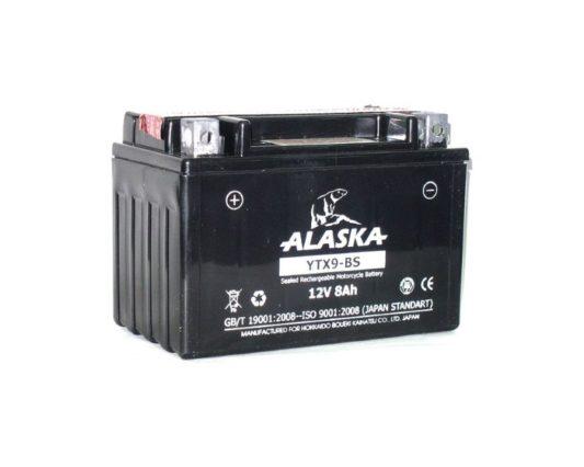 Мото аккумулятор в Воронеже купить ALASKA YTX9-BS