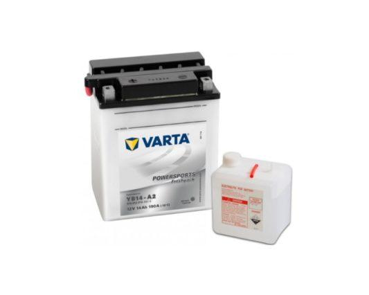 Мото аккумулятор Varta Powersports YB14-A2 14 А/ч в Воронеже купить
