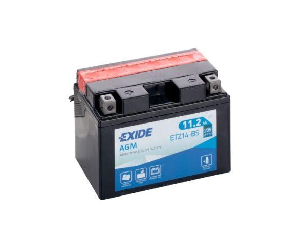 Мото аккумулятор в Воронеже Exide ETZ14-BS (YTZ14-BS) AGM 11.2 А/ч купить