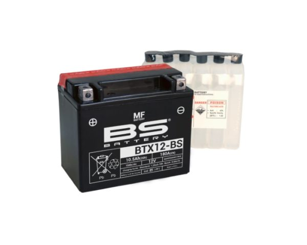 BS Battery BTX12-BS (YTX12-BS) аналог вспомогательного аккумулятора Volvo в Воронеже в наличии купить