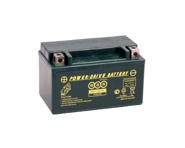 Мото аккумулятор WBR MT 12-7 (YTX7A-BS) 7 А/ч в Воронеже купить