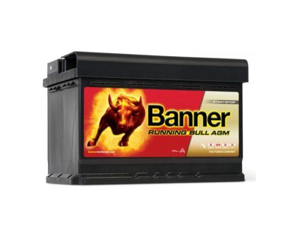 Авто аккумулятор Banner Running Bull AGM Start-Stop (57001) 70 А/ч в Воронеже купить