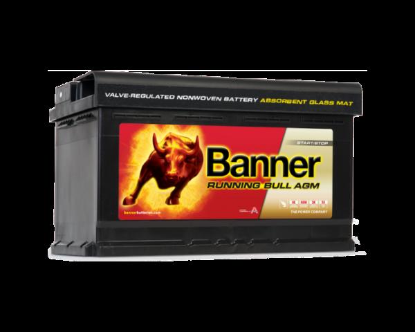 Аккумулятор Banner Running Bull AGM Start-Stop (58001) 80 А/ч в Воронеже купить