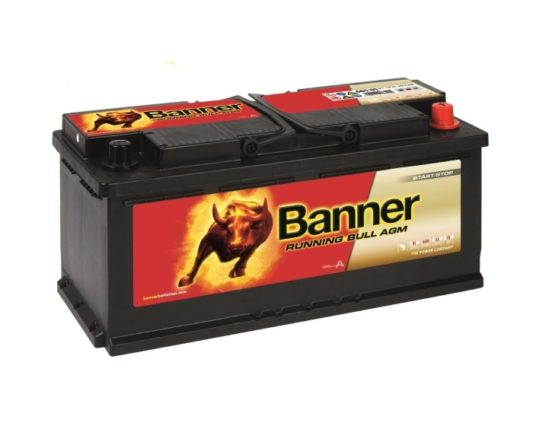 Аккумулятор Banner Running Bull AGM Start-Stop (60501) 105 А/ч в Воронеже купить
