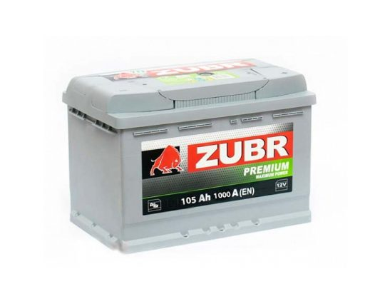 аккумулятор ZUBR PREMIUM 105 А/ч в Воронеже в наличии купить