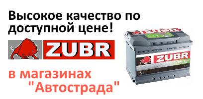 Аккумуляторы Зубр в Воронеже купить