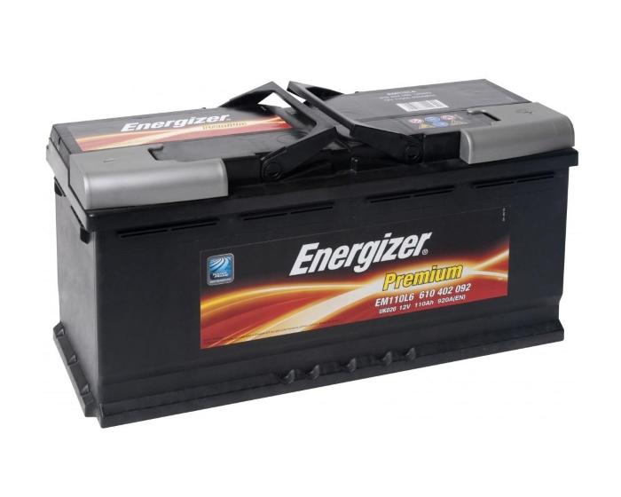 автомобильный аккумулятор в Воронеже Energizer Premium 110 А/ч купить