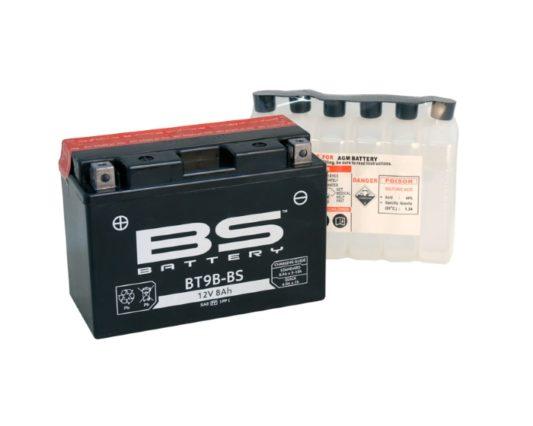 Аккумулятор для квадроцикла BS Battery BT9B-BS (YT9B-BS) в Воронеже в наличии