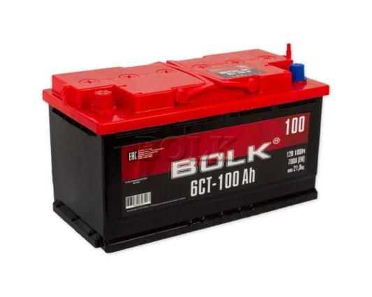 Аккумулятор на камаз Bolk 100 А/ч в Воронеже купить