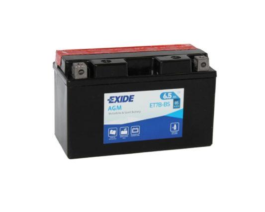 Аккумулятор для квадроцикла Exide ET7B-BS (YT7B-BS) в Воронеже купить