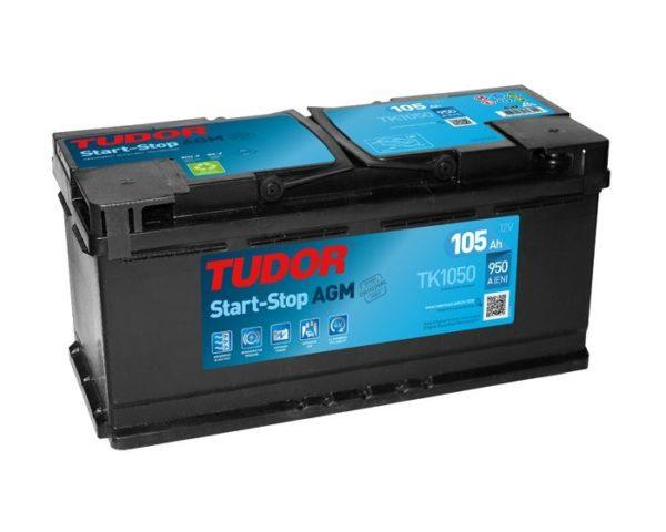 Автомобильные аккумуляторы Tudor TK1050 AGM Start-Stop 105 А/ч в Воронеже купить
