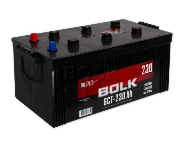 Грузовой аккумулятор в Воронеже Bolk 230 А/ч купить