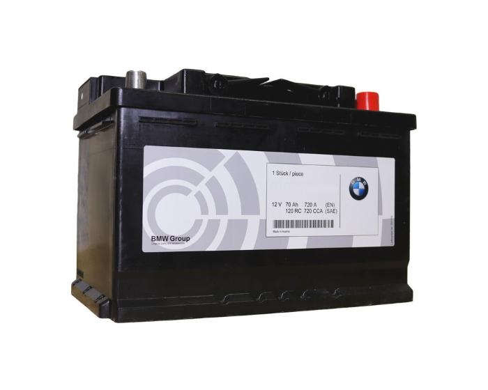 Оригинальный аккумулятор BMW Start-Stop AGM (Varta) 70 А/ч в Воронеже купить