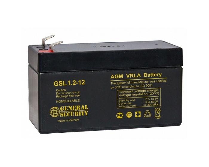 Аккумулятор для ИБП General Security GSL 1,2-12 AGM 1,2 А/ч в Воронеже