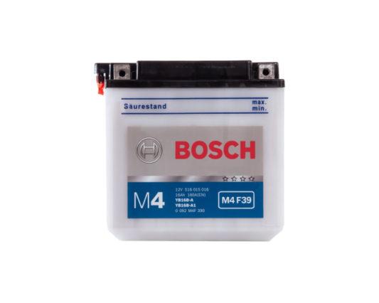 Аккумулятор для мотоцикла Bosch M4 F39 (YB16B-A1) 16 А/ч в Воронеже купить в наличии